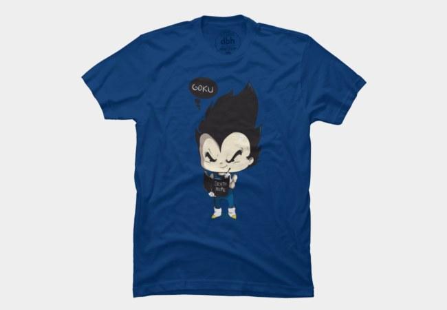 Camiseta Vegeta | Dragon Ball | Design By Humans | Goku