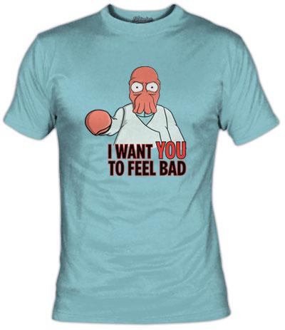 Camiseta Futurama Zoidberg