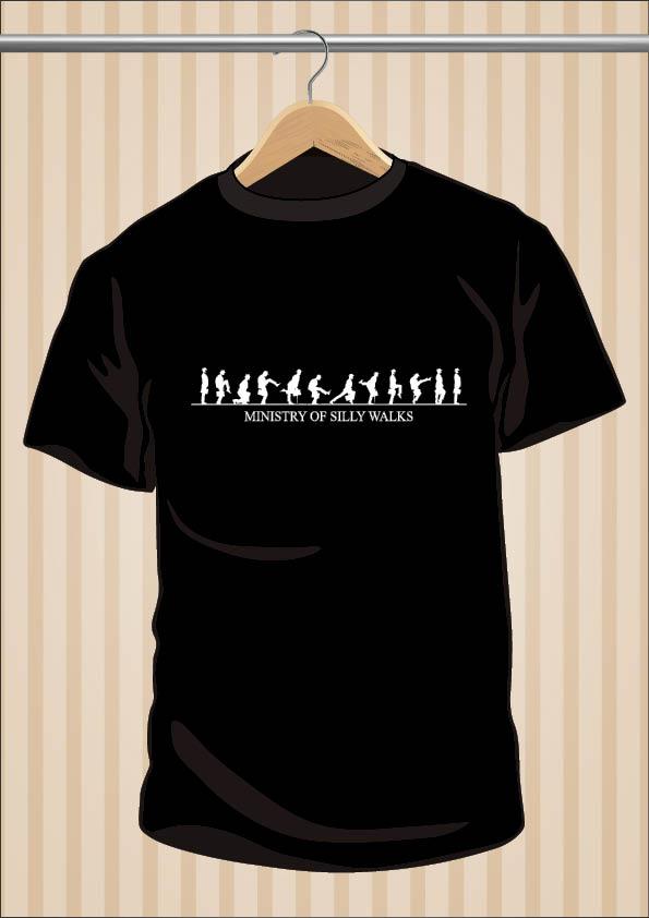 Camiseta de los Monty Python | Ministerio De Los Andares Tontos