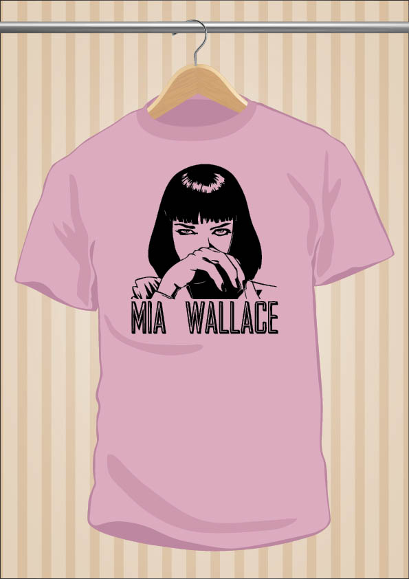 Camiseta Pulp Fitcion Mia Wallace | UppStudio