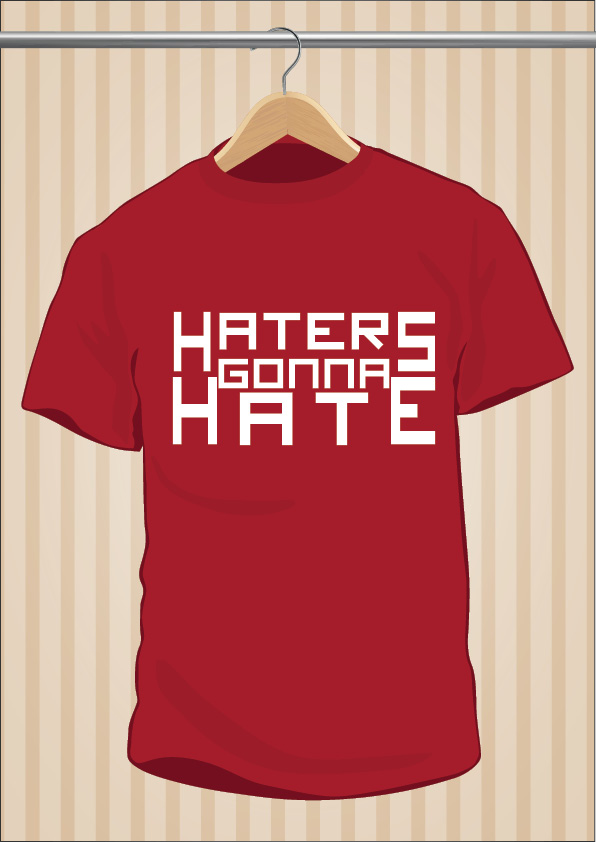 Camiseta Haters Gonna Hate Taylor Swift