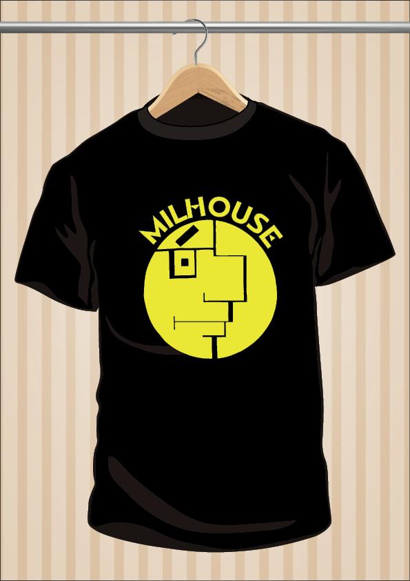 Camiseta Milhouse Los Simpson | UppStudio