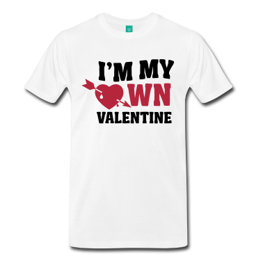Camiseta I'm My Own Valentine