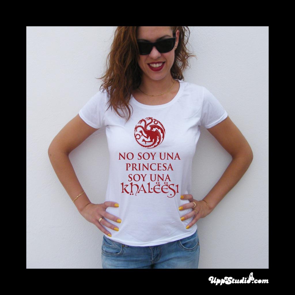 Camiseta No Soy Una Princesa Soy Una Khaleesi Juego De Tronos | UppStudio