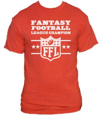 Camiseta Fantasy Football