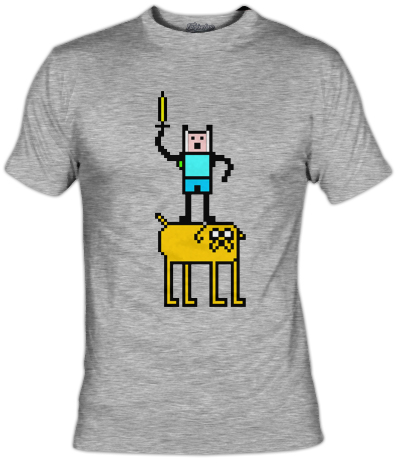 Camiseta Hora de Aventuras Pixel Time