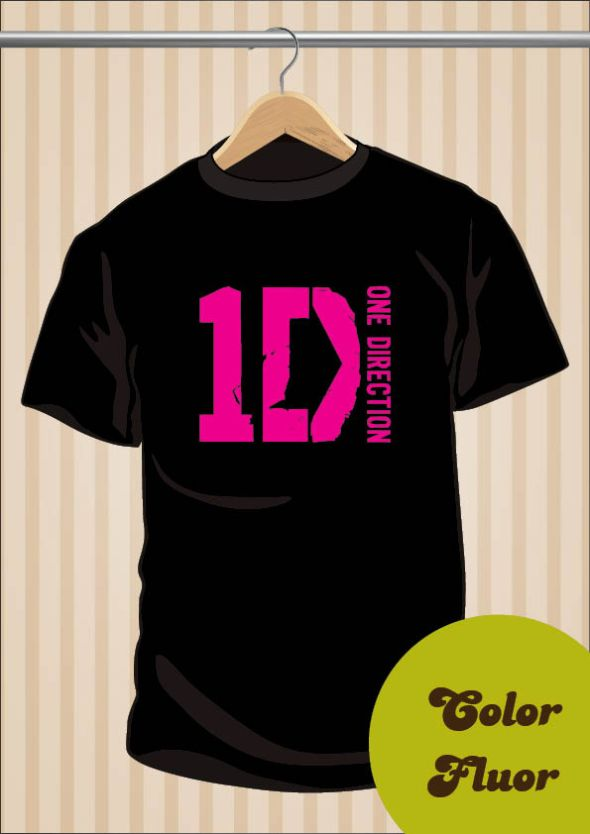 Camiseta One Direction | 1D Logo | UppStudio