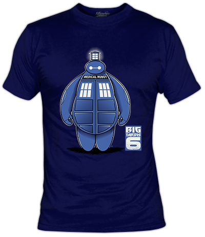 Camiseta Big Tardis 6 | Fanisetas | Dr. Who