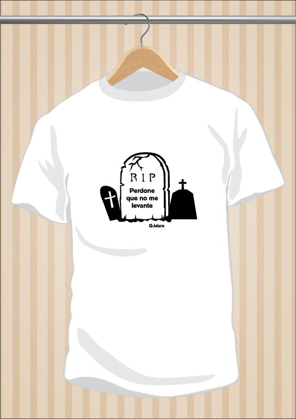 Camiseta Groucho Marx | Friki | Perdone Que No Me Levante | UppStudio