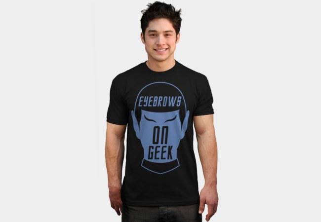 Camiseta Dr Spock | Eyebrows On Geek