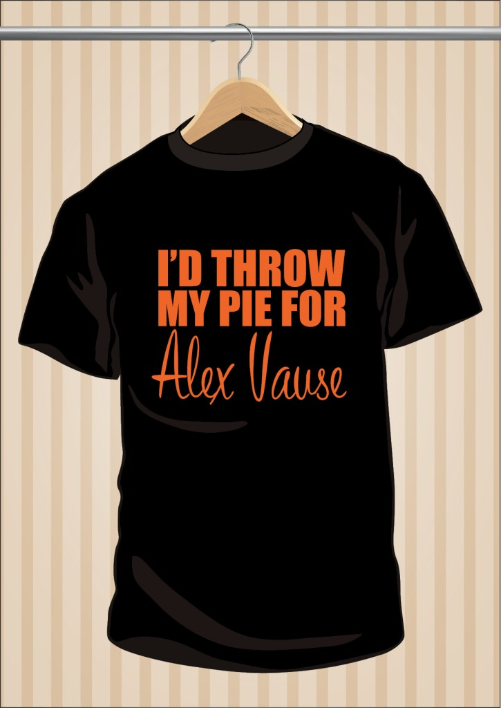Camiseta Orange Is The New Black OITNB I'd Throw My Pie For Alex Vause | UppStudio