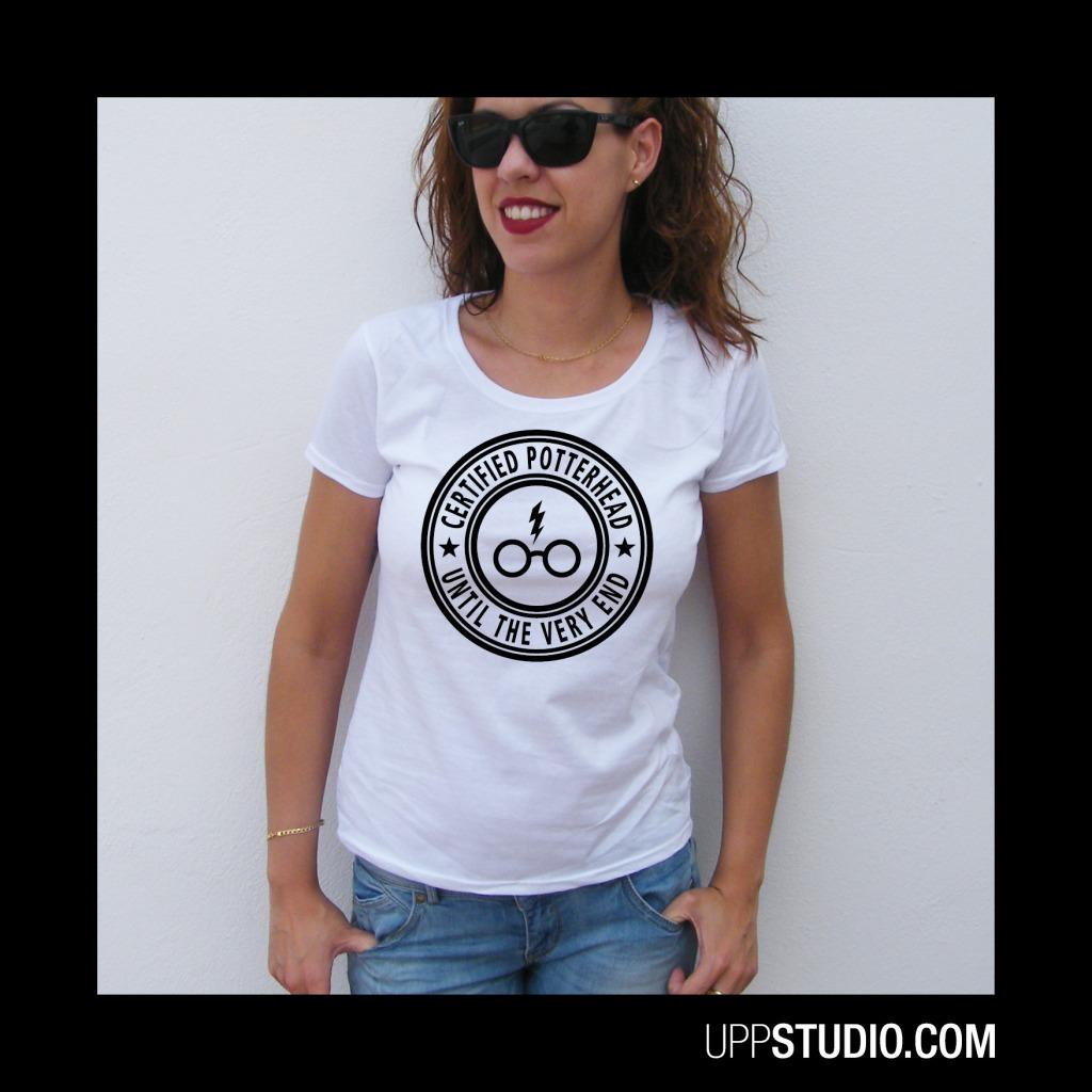 Camiseta Potterhead Certified Harry Potter | UppStudio