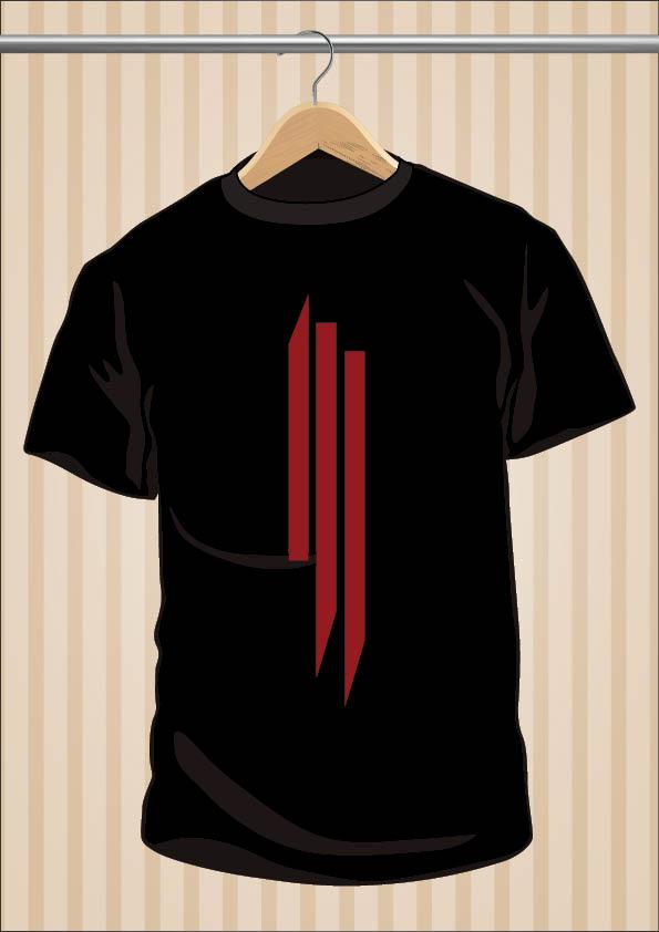 Camiseta Skrillex Símbolo DJ | UppStudio