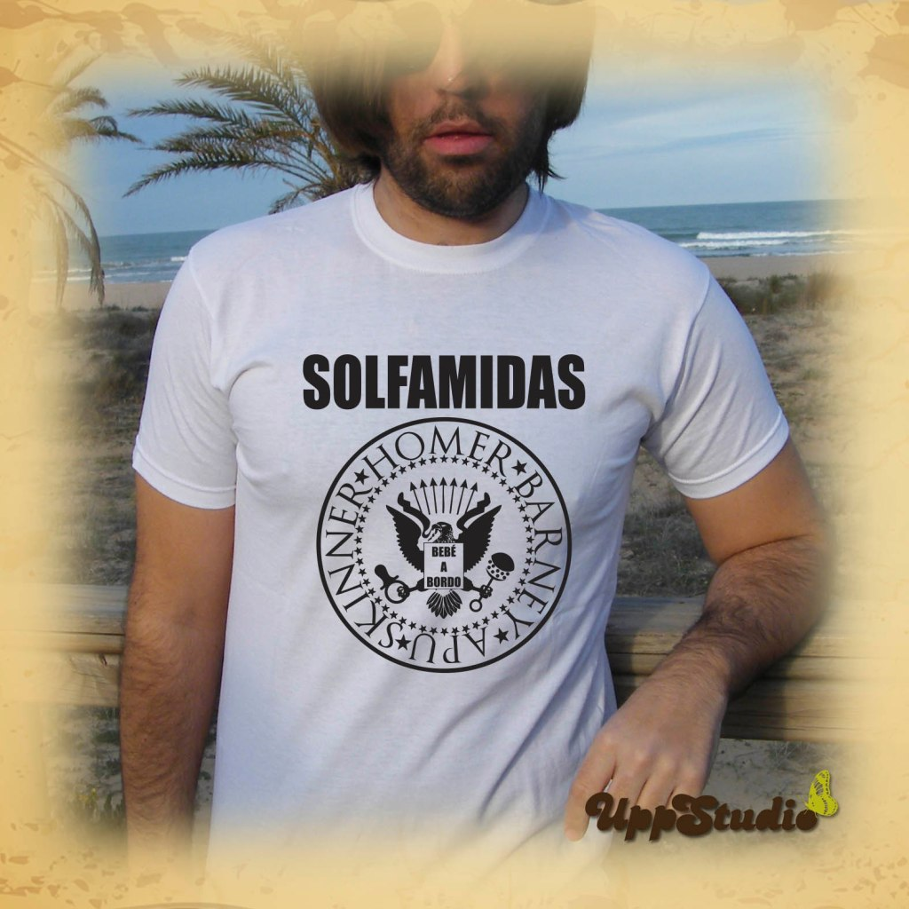 Camiseta Solfamidas Los Simpson | UppStudio