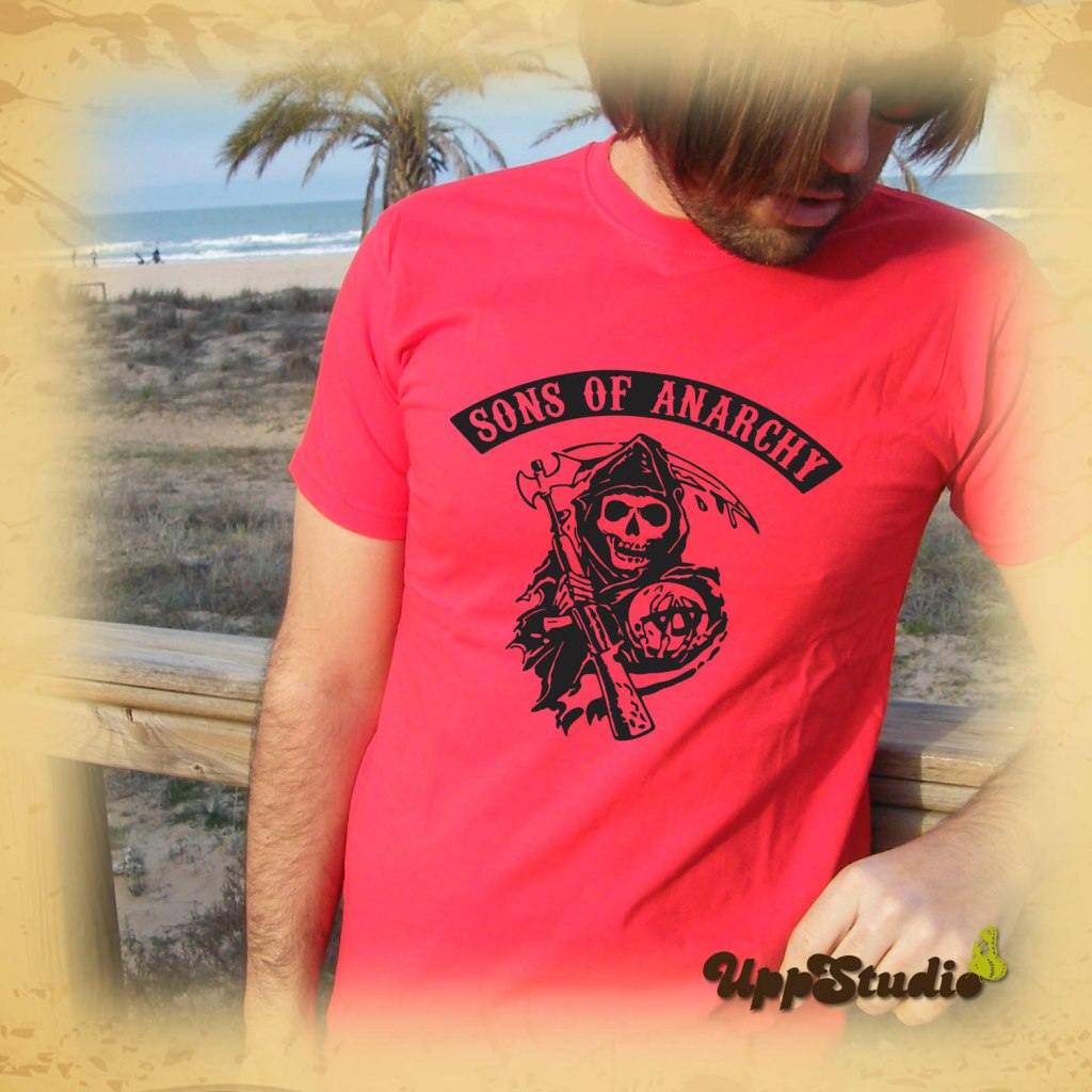 Camiseta Sons Of Anarchy | UppStudio