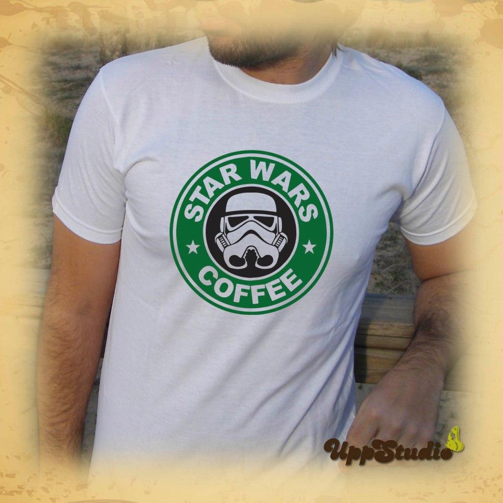 Camiseta Star Wars Coffee Starbucks | UppStudio