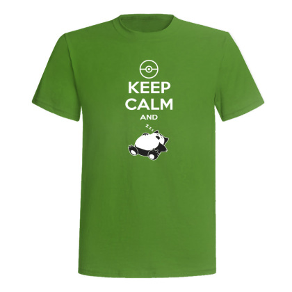 Camiseta Keep Calm And Snorlax | Frikimono