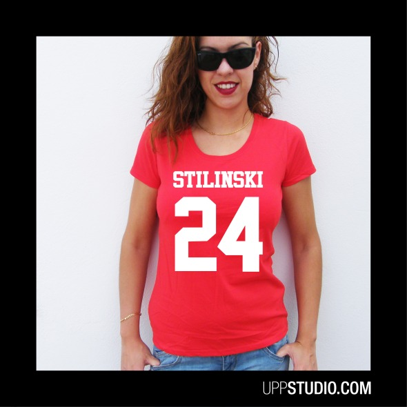 Camiseta Stilinski 24 Teen Wolf | UppStudio
