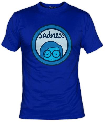 Camiseta Sadness | Tristeza | Inside Out | Fanisetas