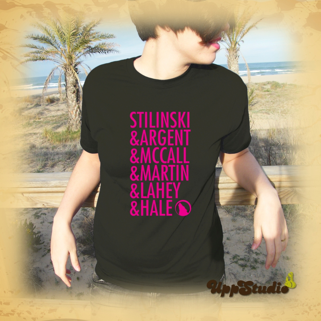 Camiseta Teen Wolf Stilinski Argent McCall Martin Lahey Hale | UppStudio