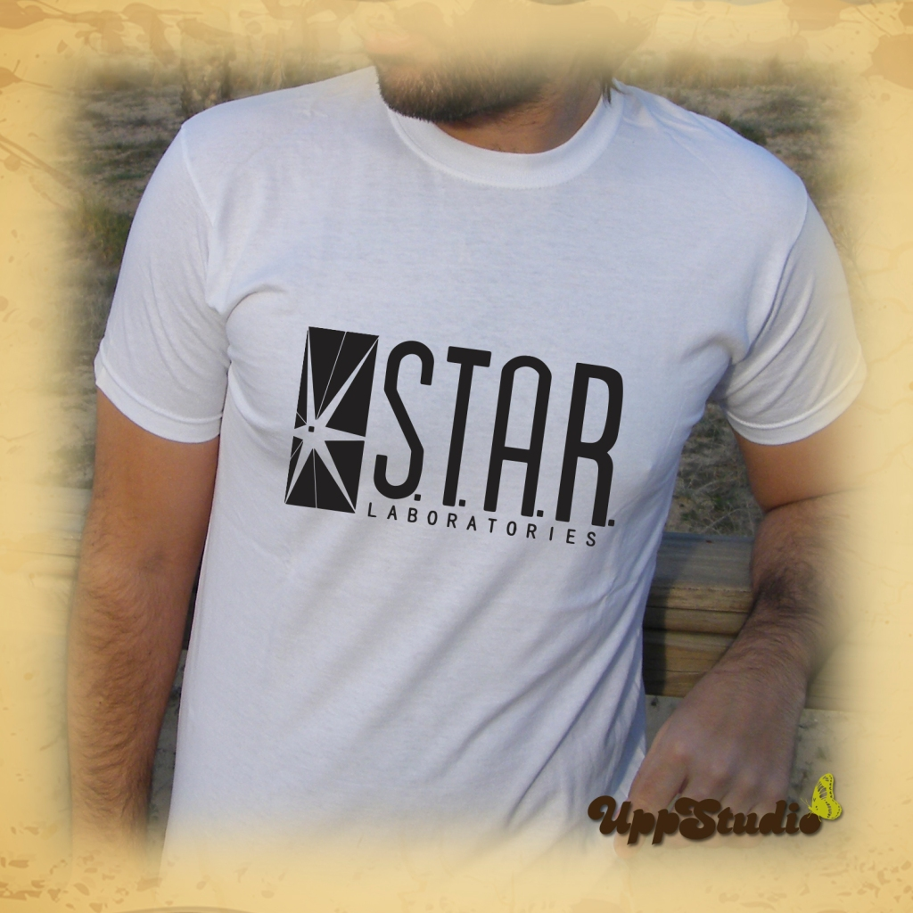 Camiseta The Flash Star Laboratories | S.T.A.R. LABS | UppStudio