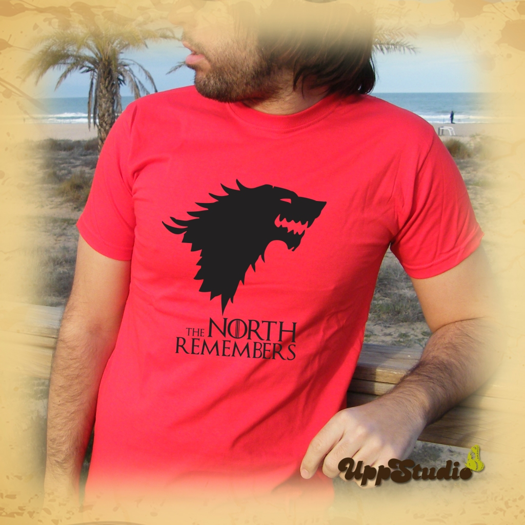 Camiseta Juego De Tronos The North Remembers Stark | UppStudio