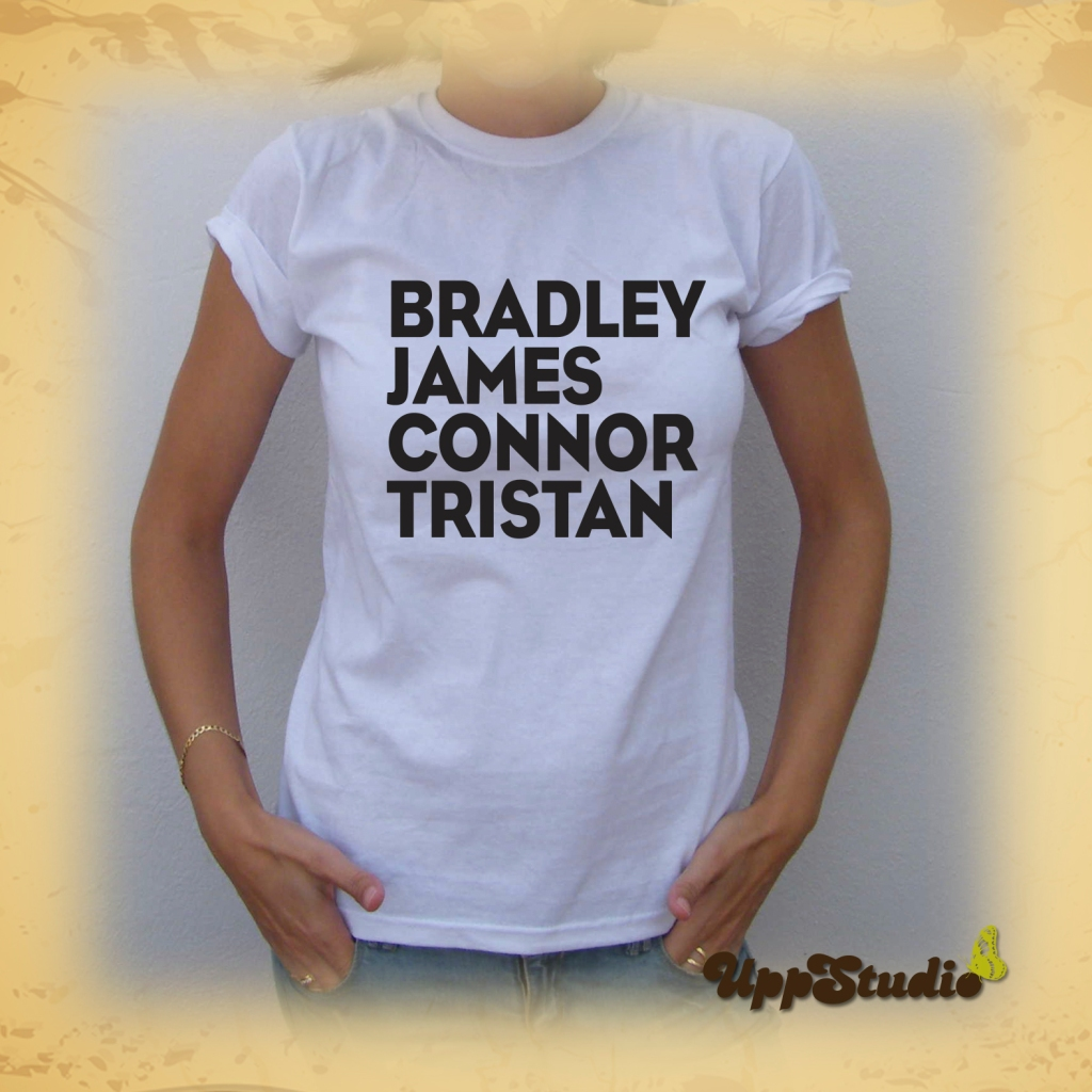 Camiseta The Vamps Tristan Evans Connor Ball James McVey Bradley Simpson | UppStudio