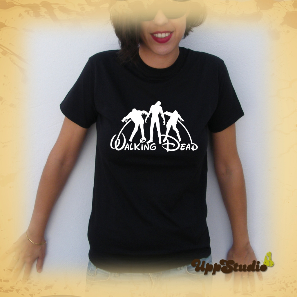 Camiseta The Walking Dead Disney Zombies | UppStudio