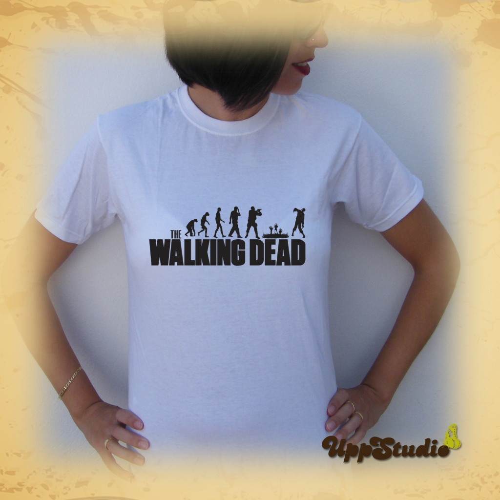 Camiseta The Walking Dead | Evolución Zombies | UppStudio