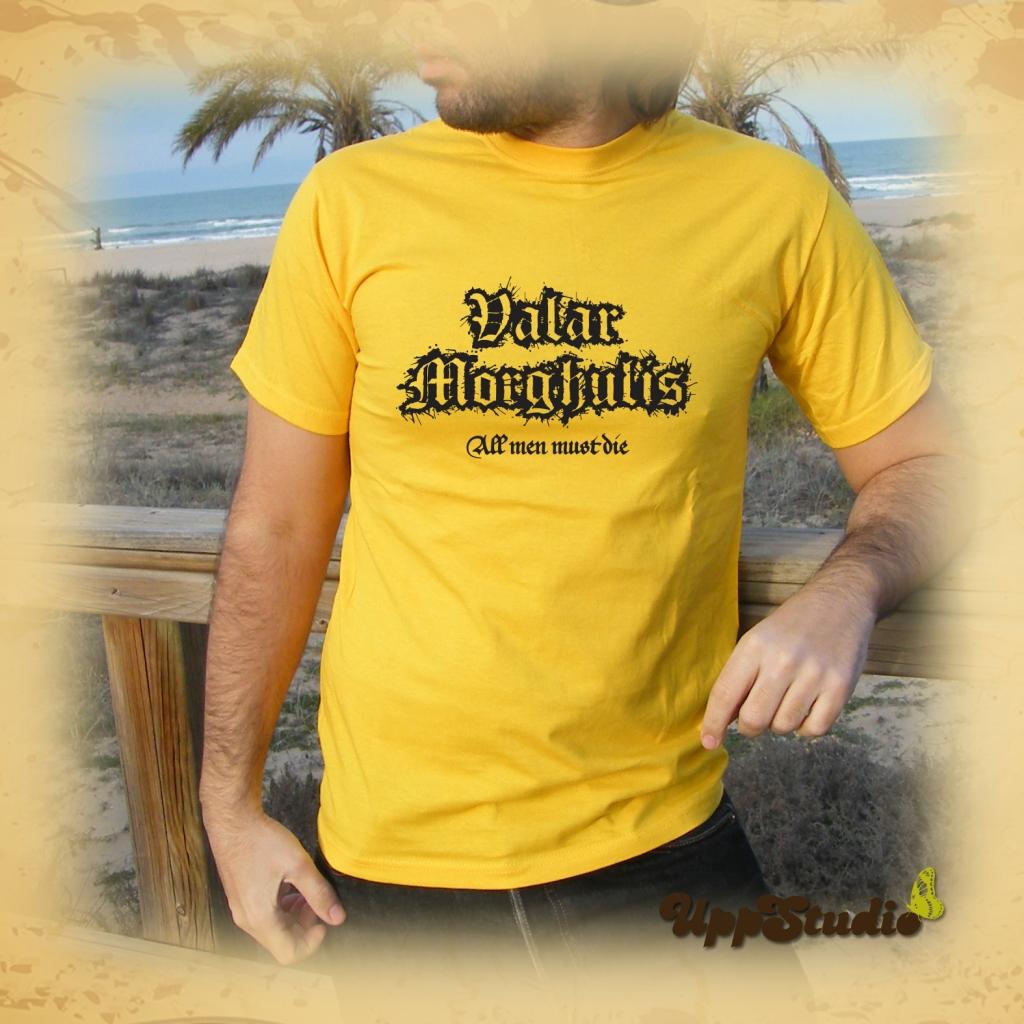 Camiseta Valar Morghulis Juego De Tronos | UppStudio