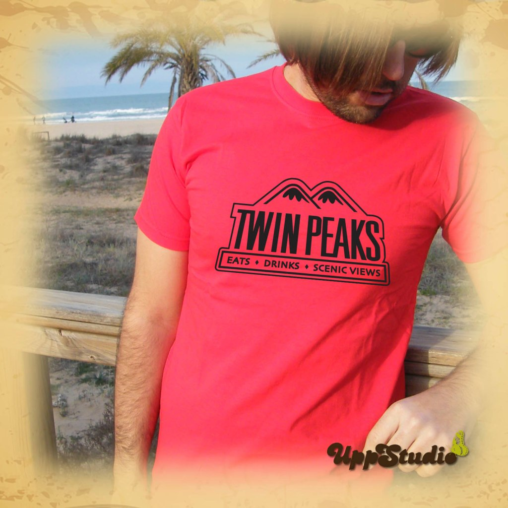 Camiseta Twin Peaks Eats Drinks Scenic Views | UppStudio