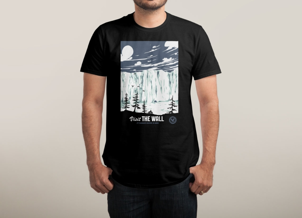 Camiseta Visit The Wall | Juego De Tronos