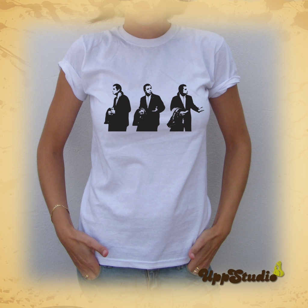 Camiseta Confused Travolta  T-Shirt Tee Pulp Fiction | UppStudio