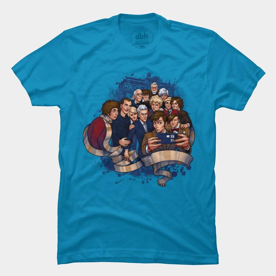 Camiseta Doctor Selfie | Doctor Who