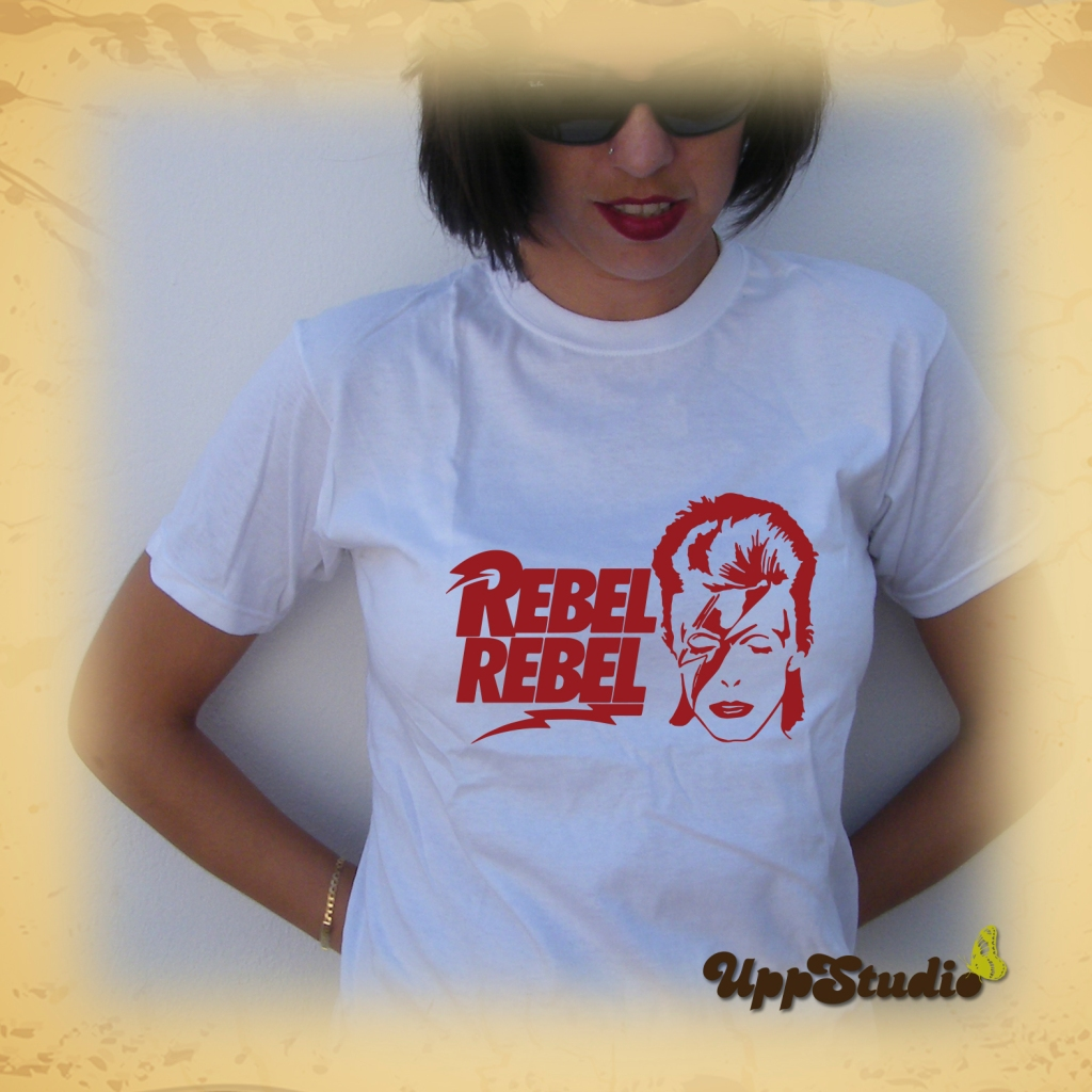 Camiseta David Bowie Rebel Rebel | UppStudio