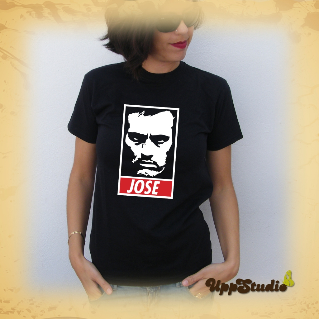 Camiseta Jose Mourinho |Disobey | The Special One | Real Madrid | Chelsea | Inter | UppStudio