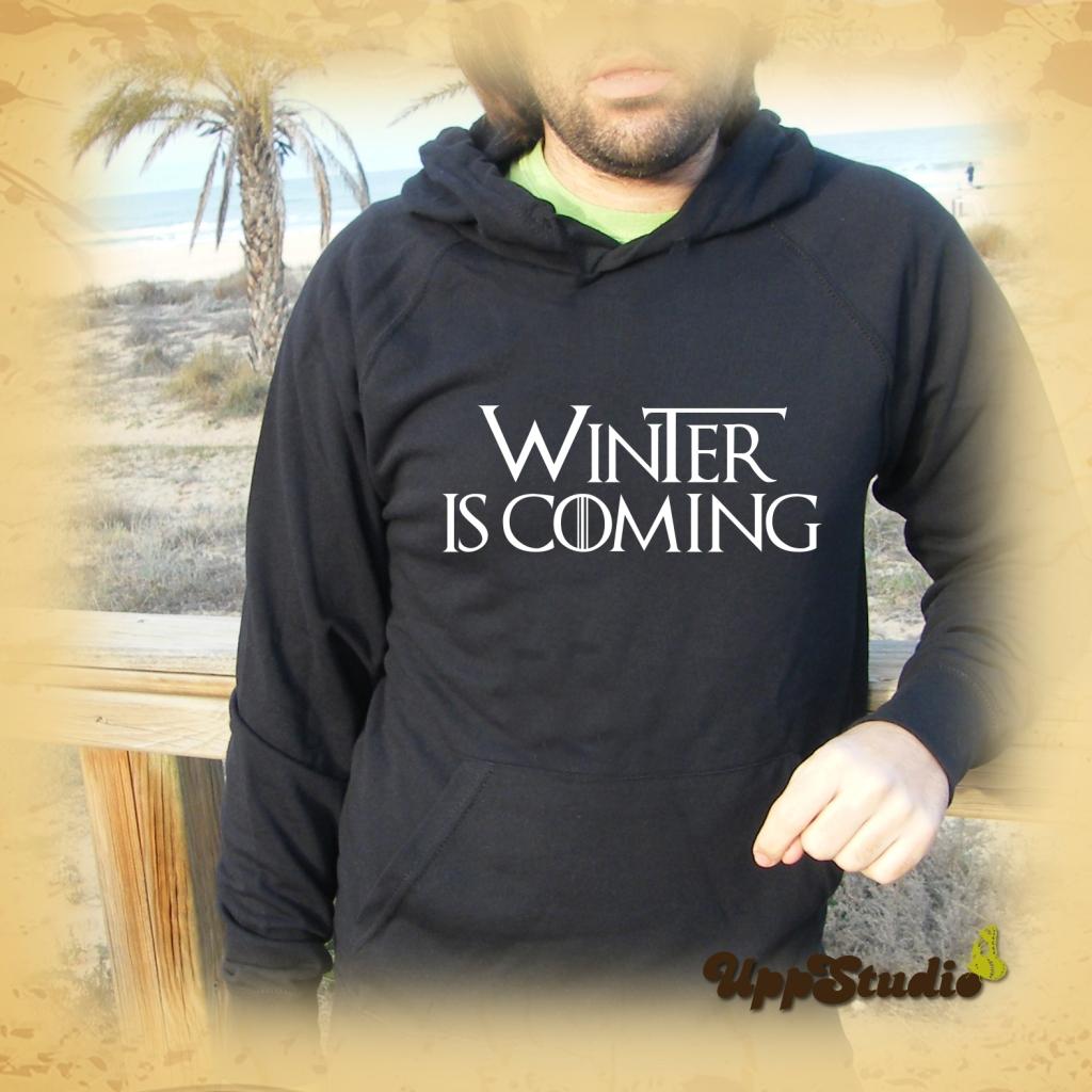 Sudadera Winter Is Coming |  Juego De Tronos | Game Of Thrones | UppStudio