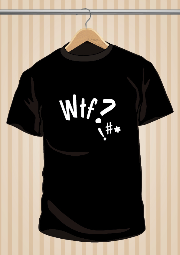 Camiseta What The Fuck ! WTF | UppStudio