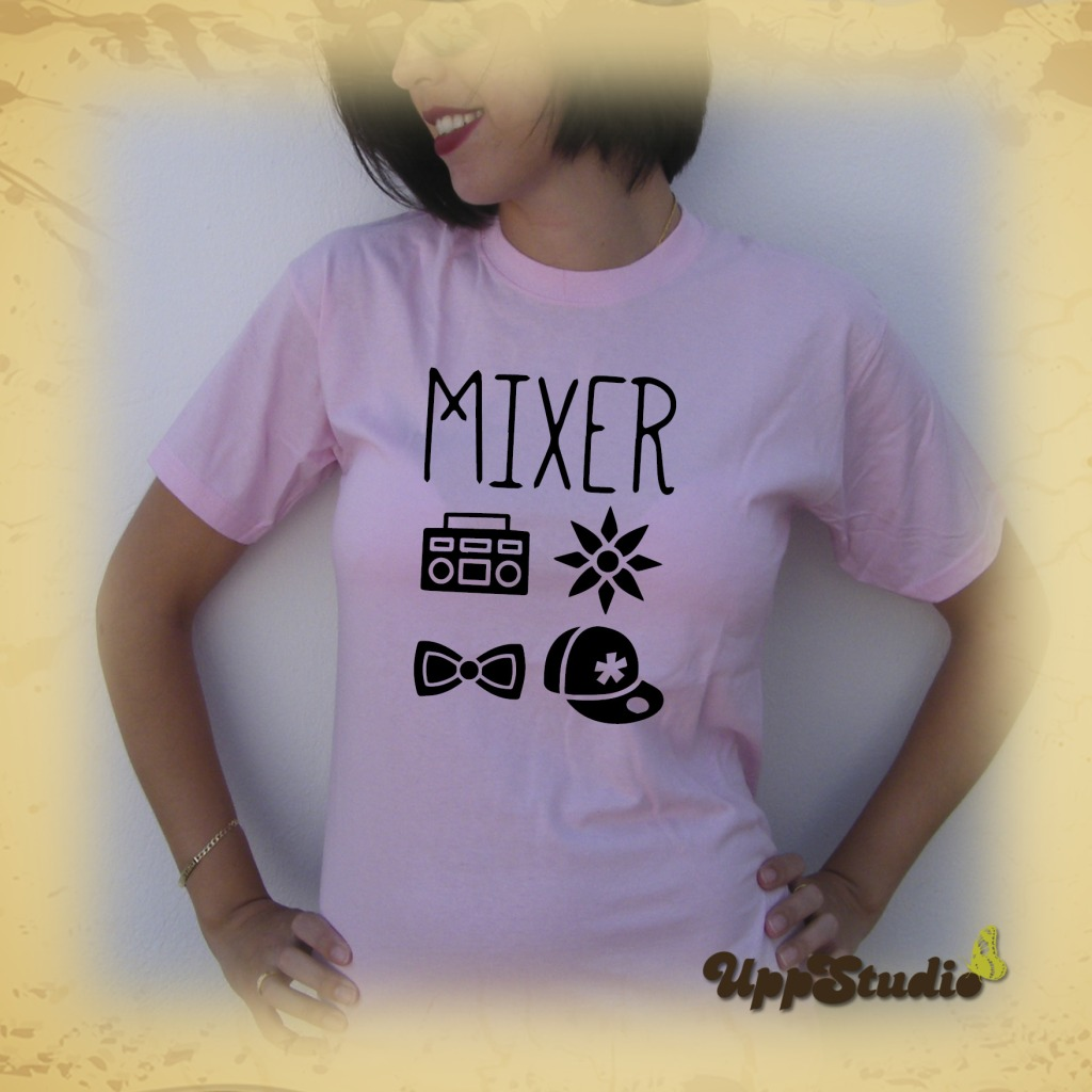 Camiseta Little Mix Símbolos Mixer | UppStudio