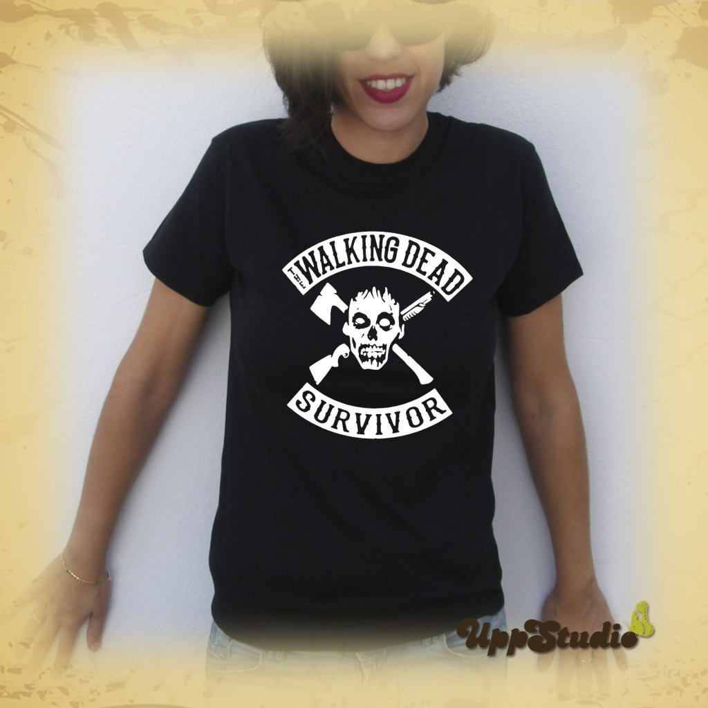 Camiseta The Walking Dead Survivor | UppStudio