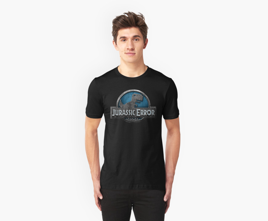 Camiseta Jurassic Error | Jurassic World