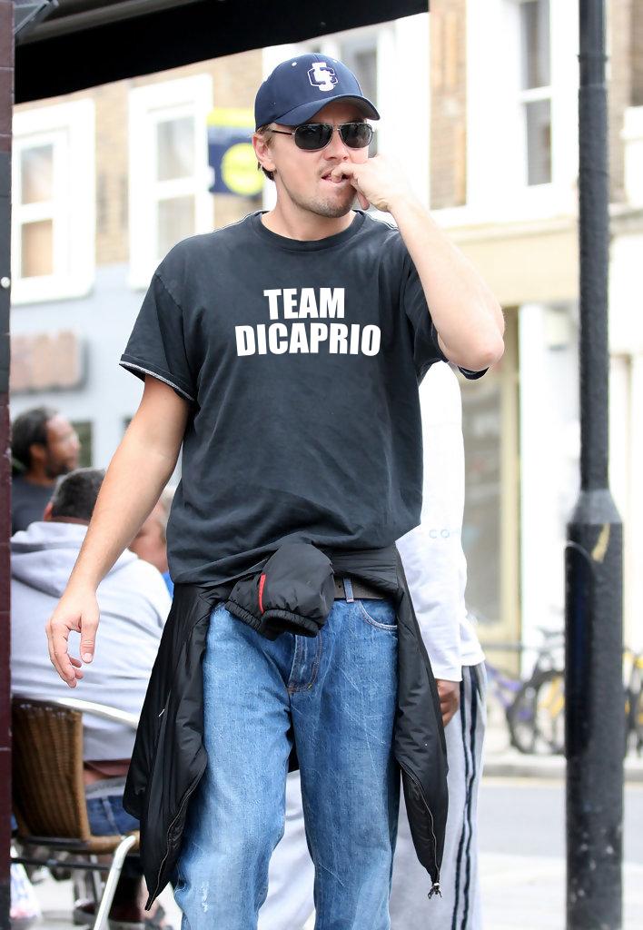 Camiseta Leonardo DiCaprio Team DiCaprio | UppStudio