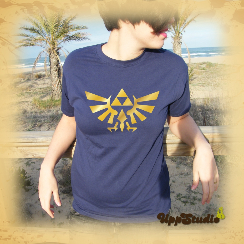 Camiseta The Legend Of Zelda Trifuerza | UppStudio