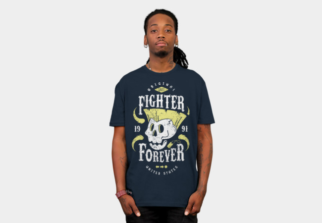 Camiseta Street Fighter Forever