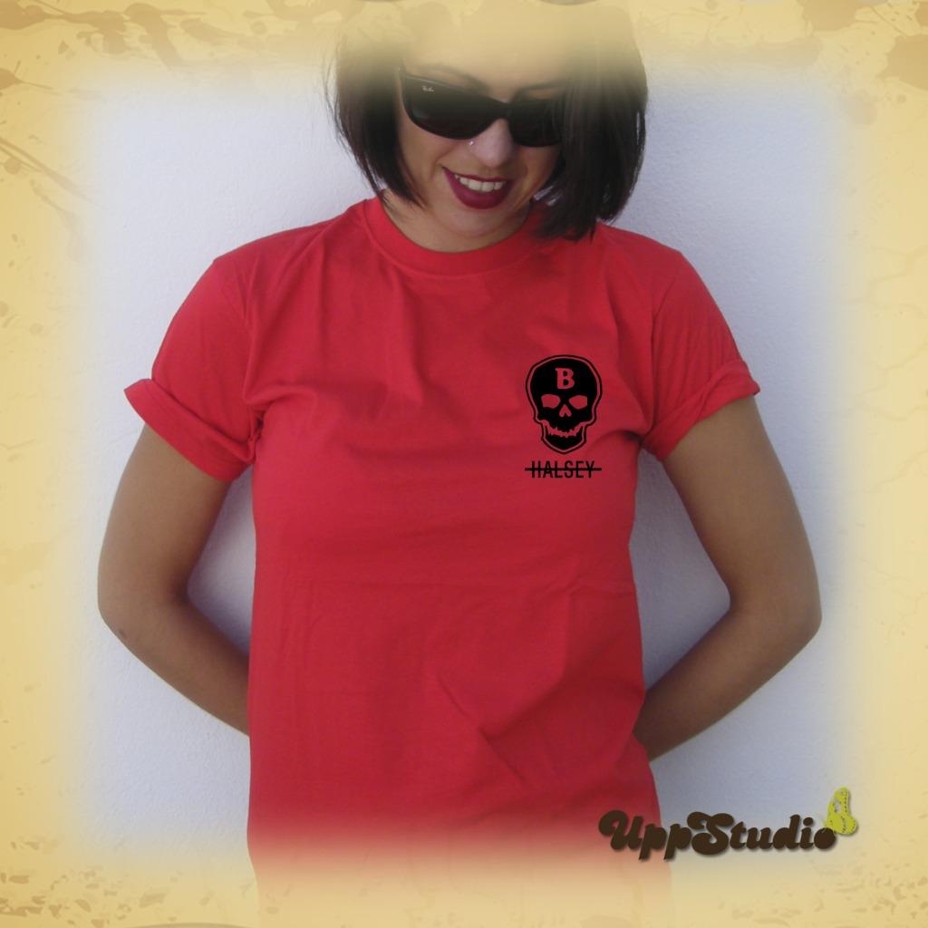 Camiseta Halsey | Calavera | UppStudio