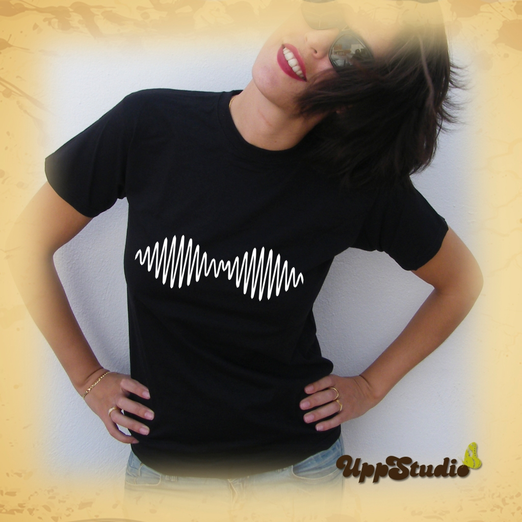 Camiseta Arctic Monkeys AM Onda | UppStudio