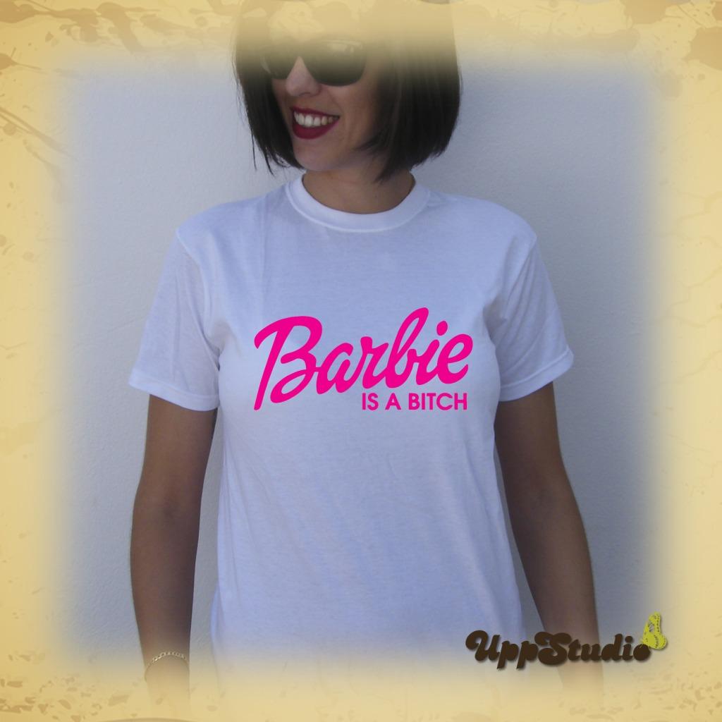 Camiseta Barbie Is A Bitch | UppStudio