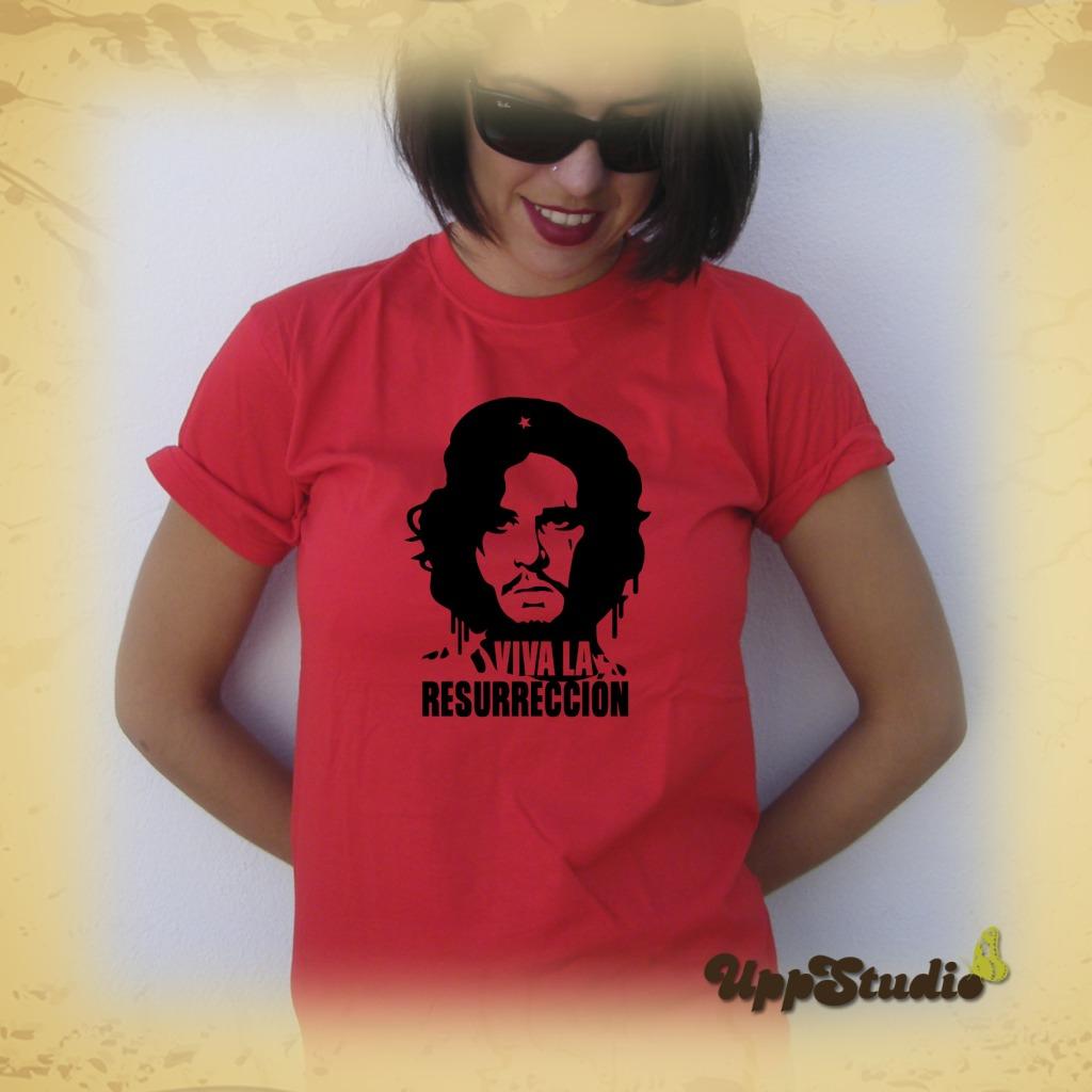 Camiseta Jon Snow Viva La Resurrección Juego De Tronos | UppStudio