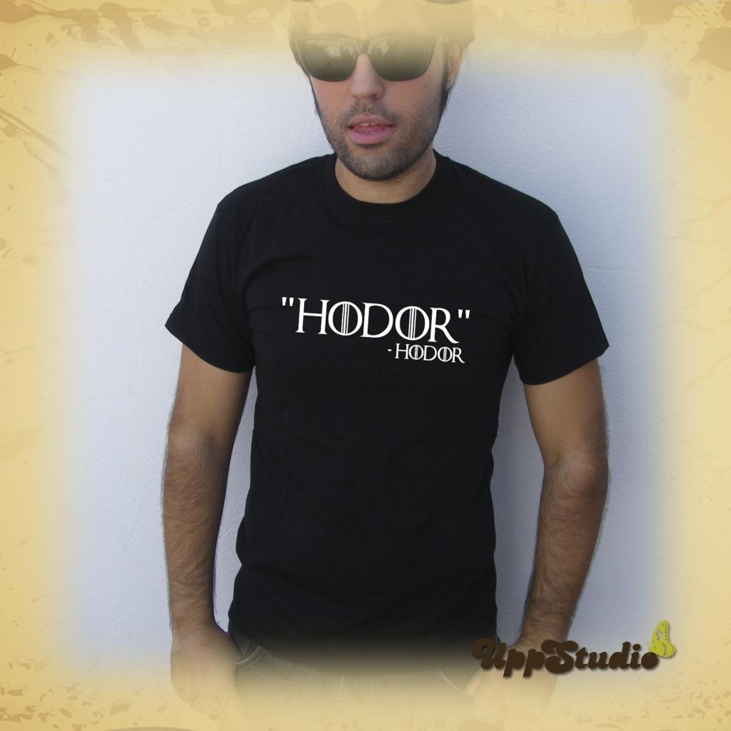 Camiseta Juego De Tronos Hodor T-Shirt Tee Game Of Thrones Hold The Door | UppStudio