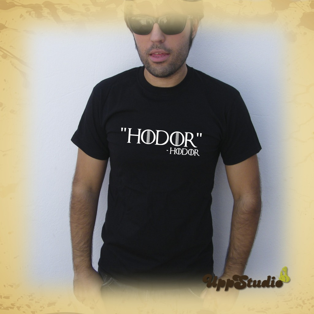 Camiseta Juego De Tronos Hodor T-Shirt Tee Game Of Thrones Hold The Door | UppStudio